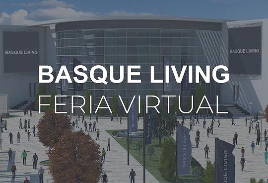 Cartel de la Feria Virtual Basque Living